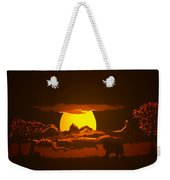 The Last Water Hole Weekender Tote Bag