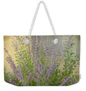 The Lavender Outside Her Window Weekender Tote Bag