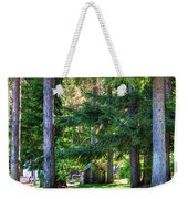 The Lawn At Hill's Resort Weekender Tote Bag