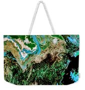 The Lay Of The Land Weekender Tote Bag