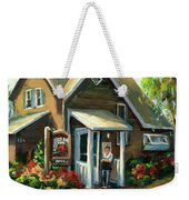 The Lazy Susan - Your Table Is Ready Weekender Tote Bag