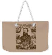 The Leader And His Battles - General Grant Weekender Tote Bag