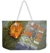 The Leaf And The Reflections Weekender Tote Bag