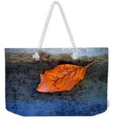 The Leaf On The Stairs Weekender Tote Bag