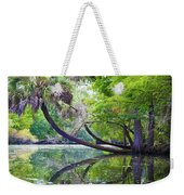 The Leaning Palm Weekender Tote Bag