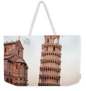 The Leaning Tower Of Pisa Weekender Tote Bag