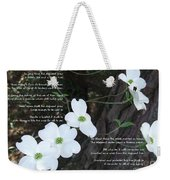 The Legend Of The Dogwood Weekender Tote Bag