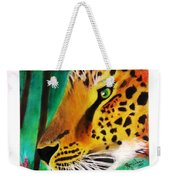The Leopard And The Butterfly Weekender Tote Bag