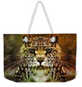 The Leopard Of The Temple  Weekender Tote Bag