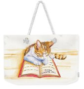 The Lesson Weekender Tote Bag