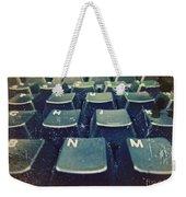 The Letters Weekender Tote Bag