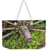The Lichen Wheel Weekender Tote Bag