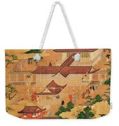 The Life And Pastimes Of The Japanese Court - Tosa School - Edo Period Weekender Tote Bag