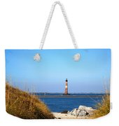 The Lighhouse At Morris Island Charleston Weekender Tote Bag