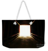 The Light At The End Weekender Tote Bag