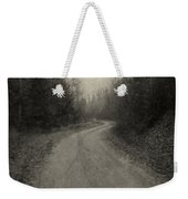 The Light At The End Of The Road Weekender Tote Bag