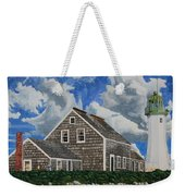 The Light Keeper's House Weekender Tote Bag