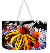 The Light Within The Flowers Weekender Tote Bag