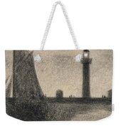 The Lighthouse At Honfleur Weekender Tote Bag