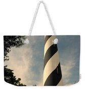 The Lighthouse In St.augustin Fl Weekender Tote Bag