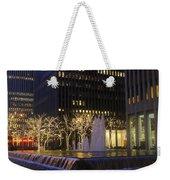 New York City Lights Weekender Tote Bag