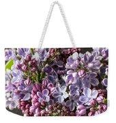 The Lilac  Weekender Tote Bag