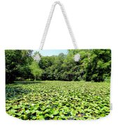 The Lily Pond #1 Weekender Tote Bag