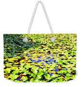The Lily Pond #2 Weekender Tote Bag