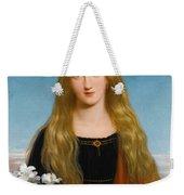 The Lily. Portrait Of Miss Bury Weekender Tote Bag