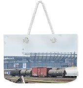 The Linc From The Other Side Of The Tracks Weekender Tote Bag