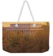 The Lincoln Memorial, Seen Weekender Tote Bag