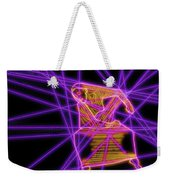 The Lines Of Martha Graham L Tech Weekender Tote Bag