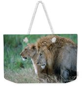 The Lion And His Lioness Weekender Tote Bag