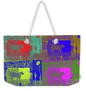 The Lion And The Tiger Weekender Tote Bag by Robert Meanor