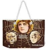 The Lion Man 1919 Weekender Tote Bag
