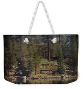 The Little Cabin Weekender Tote Bag