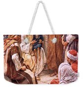 The Little Child Set In Their Midst Weekender Tote Bag