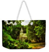 The Little Church On The Corner Weekender Tote Bag