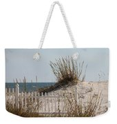 The Little Dune And The White Picket Fence Weekender Tote Bag