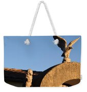 The Little Lion And The Soaring Eagle Who Watches Over Him Weekender Tote Bag
