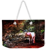 The Little Pink Unicorn By Pedro Cardona Weekender Tote Bag