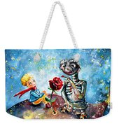 The Little Prince And E.t. Weekender Tote Bag