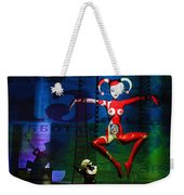 The Little Puppet Master Weekender Tote Bag