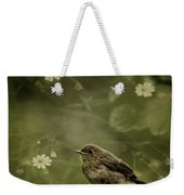 The Little Robin Weekender Tote Bag