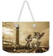 The Little Sable Lighthouse Weekender Tote Bag
