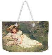 The Little Shepherdess Weekender Tote Bag