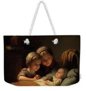 The Little Sleeping Brother Weekender Tote Bag