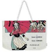 The Little Thumbelina 1891 Weekender Tote Bag