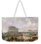 The Liverpool And National Steeplechase At Aintree Weekender Tote Bag