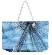 The Liverpool Wheel In Blues 3 Weekender Tote Bag